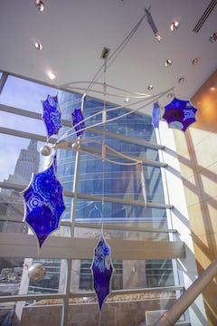 Dierk Van Keppel installation at the H&R Block in Kansas City.