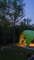 The Chrysalis at Merriweather Park in Symphony Woods.