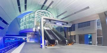 Miami intermodal center canopy design