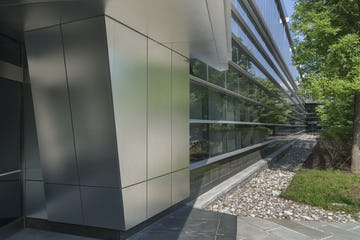 GB-60 stainless steel used on the KPF-designed IBM Headquarters in Armonk, New York.