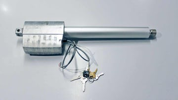 Example actuator for the operable window units.