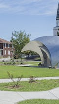Murphysboro Town Park Pavilion and Bandshell by John Medwedeff