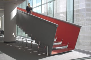 Juilliard Staircase designed by Diller Scofidio + Renfro.