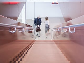 Kieran Timberlake Office Stair
