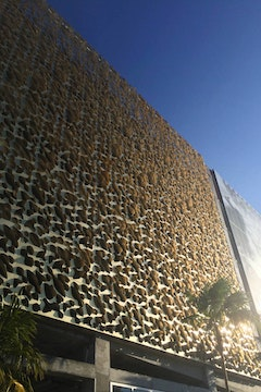 Leong leong perforated facade