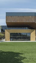 McMurtry Building in Stanford, California, designed by Diller Scofidio + Renfro.
