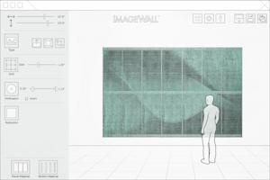 Screenshot preview of the ImageWall app