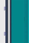 Vertical glass detail
