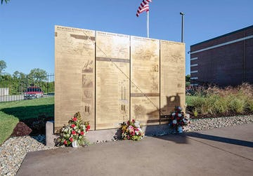 Remembering 9/11 — Dedicating the Memorial at Overland Park