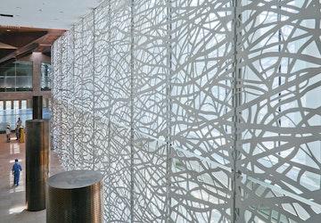 Doha artwall interior