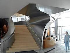 Hunter staircase interior