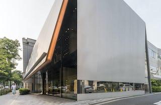 eb6fc5a699a4e Miu Miu Aoyama in Tokyo, Japan. Designed by Herzog  amp  de ...