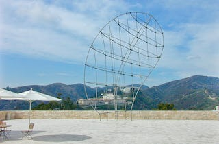 Martin Puryear, Los Angeles, California; Getty Museum of Art Stainless steel, bronze;  45' x 30' x 12' 1999.