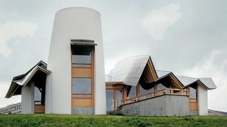 Maggies centre frank gehry roof by zahner metal