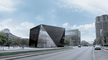 Zahner's work on FMA-designed Cleveland MOCA Featured in Glass Guides