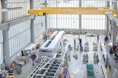 Manufacturing the Miami Intermodal Center at the Zahner plant in Kansas City.