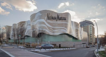 Neiman Marcus flagship building, completed in 2007.