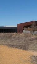 South entrance for the Trinity River Audubon Center.