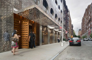 Dream downtown perforated metal nyc