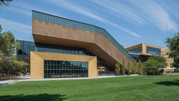 McMurtry Building Zinc Facade Featured in Architects Newspaper, Digest, Chronicle