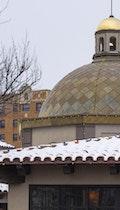 Zinc dome plaza