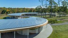 Grace Farms custom roof system.