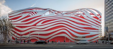Petersen Automotive Museum in Los Angeles.