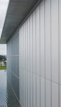 Inverted Seam® metal system for metal facades