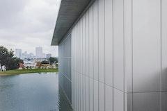 The modern reflecting pool