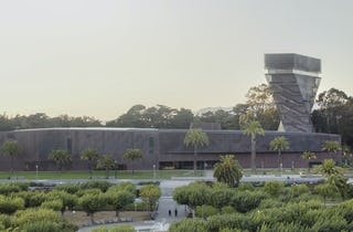 De Young Museum cover feature in Architectural Record