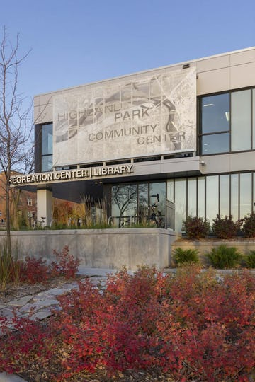 Highland Park Community Center in St. Paul, Minnesota.