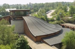 Kansas city zoo aerial