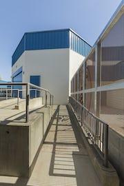 South screenwall at Washington Elementary.