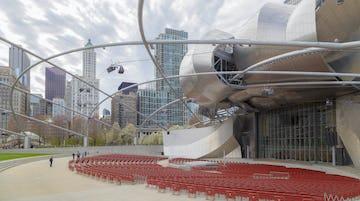 Pritzker Pavilion at Millenium Park.