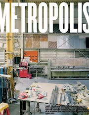 Metropolis Magazine feature by Peter Hall, Download as PDF.