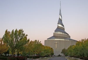 Independence Temple designed by Gyo Obata HOK Architects.