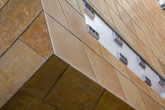 Custom acoustic tiles for the Taubman Museum of Art.