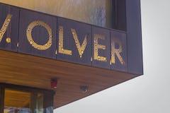 Custom perforated signage for John Olver Transit Center