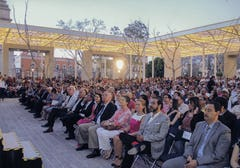 Opening gala event for the Patio de las Jacarandas in Aguascalientes, Mexico.