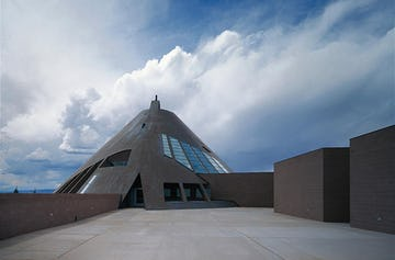 American Heritage Center in Laramie, Wyoming.