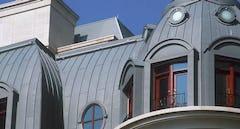 Custom historic roof system for 65 E. Goethe in Chicago.