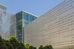 Photo of DeBruce Center in Angel Hair® Aluminum.