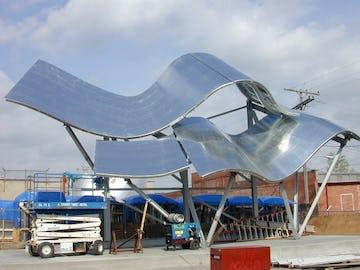Guggenheim Canopy at the Zahner facility in Kansas City.