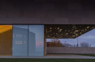 Manufacturing Art: the moving lights display for The Nerman Museum