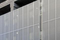 Standard parking 11th and oak aluminum construction