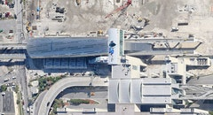 Miami intermodal center mic aerial