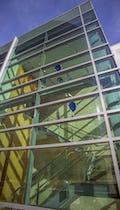 Dierk Van Keppel sculptural installation at the H&R Block Space in Kansas City.