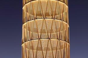 Photo courtesy James Carpenter Design Associates.