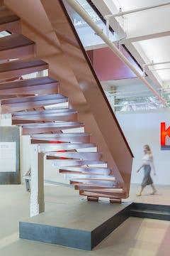 Office stair at KieranTimberlake