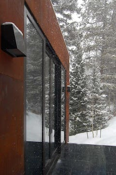 Tranquility at the Dayton Residence in Vail, Colorado.